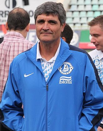 Juande Ramos - Ramos with FC Dnipro in 2011.