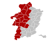Judicial Arrondissement Hasselt Belgium Map