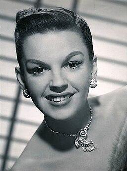 Judy Garland 1950 publicity photo