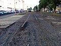Jugoslávských partyzánů, rekonstrukce trati (03).jpg