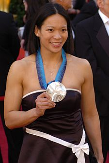 Julie Chu @ 2010 Academy Awards (cropped).jpg