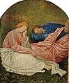 Juste de Gand, Apôtres endormis ( fragment ).jpg