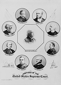 Justices of the United States Supreme Court (1896)