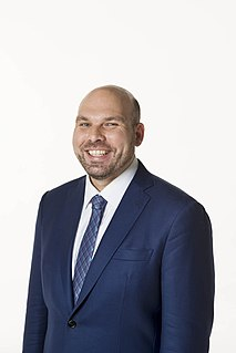 Justin Hanson Australian politician