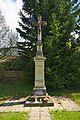 Kříž jižně od nádraží, Horní Lideč, okres Vsetín.jpg