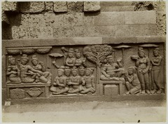 KITLV 27999 - Kassian Céphas - Relief of the hidden base of Borobudur - 1890-1891.tif