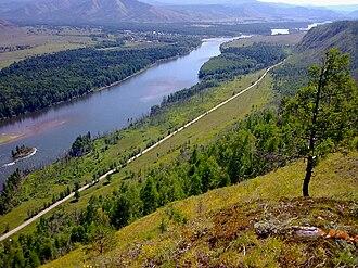 Little Yenisei River - Ka-Hem