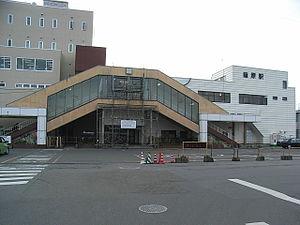 Kagohara Station - North entrance of Kagohara Station