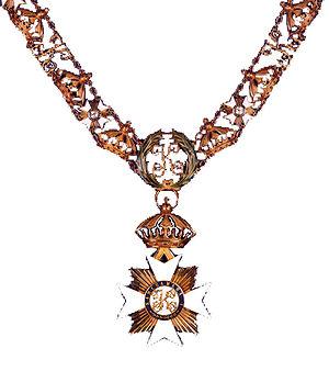 Royal Order of Kamehameha I (decoration) - Image: Kamehameha I knightsgrandcrosscol lar