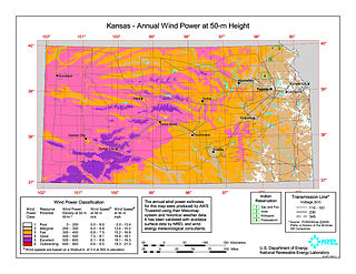 Wind power in Kansas
