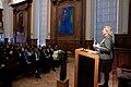 Karin Kneissl besucht Löwen um einen Vortrag an der Universität zu halten (44169122150).jpg