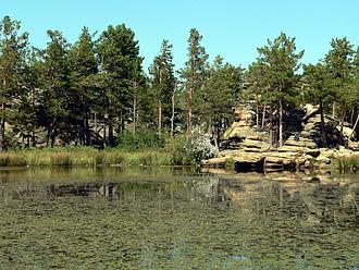 Karkaraly National Park - Lake Shaitankol