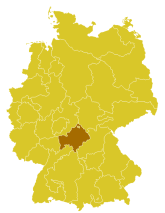 Roman Catholic Diocese of Würzburg - Image: Karte Bistum Würzburg