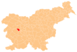 The location of the Municipality of Žiri
