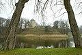 Kasteel van Gaasbeek met wijngaard en Kromme Vijver - 371357 - onroerenderfgoed.jpg