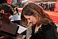 "Kathryn Hahn - ""She's Funny That Way"" red carpet - -Venezia71.jpg"