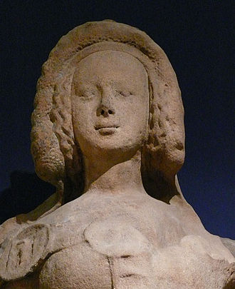 Catherine of Bohemia - Statue of Catherine of Bohemia and Luxembourg