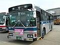 Kawasaki Tsurumi Rinko Bus 2H055 silver-bus.jpg