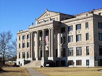 Newkirk, Oklahoma - Kay County Courthouse (2010)