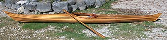 Strip-built - Wood strip-built Kayak