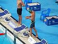 Kazan 2015 - final 50m breast Giedrius Titenis.JPG