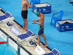 Kazan 2015 - final 50m breast Giedrius Titenis.JPG