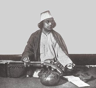 Bengali Muslims - Kazi Nazrul Islam, the national poet of Bangladesh