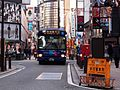 Keio Bus Higashi A20926 Shinjuku WE Bus Kabukicho Route 2016.jpg