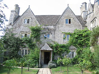 Kelmscott Manor - Main Entrance to Kelmscott Manor