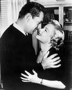 """The Bigelow Theatre - Kent Taylor and Marjorie Reynolds in """"A Case of Marriage"""" in October 1951."""