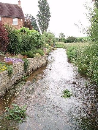 Wells, Somerset - Keward Brook