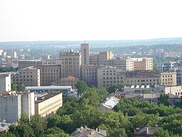 Структура университета править