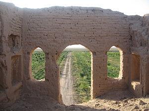 Shal District - Ruins near Kheyrabad, Shal