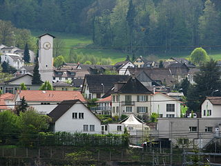 Place in Aargau, Switzerland