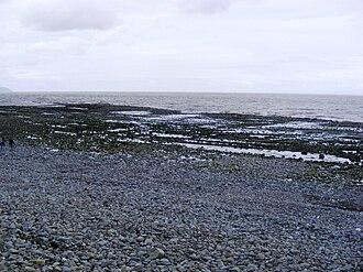 Kilve - The wavecut beach
