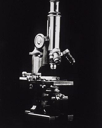 Joseph J. Kinyoun - Kinyoun's microscope