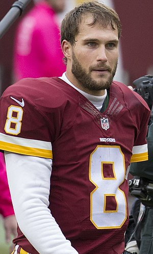 Kirk Cousins - Cousins with the Washington Redskins in 2015