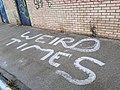Kirkstall Neighbourhood Centre - weird times (geograph 6511703).jpg