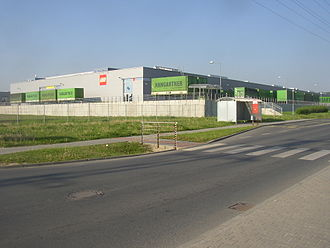 The Lego Group - Lego factory in Kladno, Czech Republic, established in 2000. This is one of several sites in the world where Lego toys are manufactured (Denmark, Hungary, China and Mexico are the others).