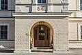 Klagenfurt Welzenegg Krastowitz 1 Schloss Krastowitz Turmvorhalle und Portal 27122016 4725.jpg