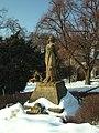 Klecany, socha.JPG