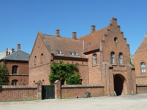 Sorø Abbey - The original gate to the abbey