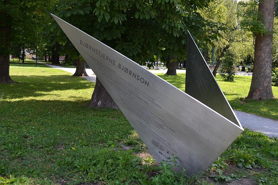 Košice - Bjørnstjerne Bjørnson - pamätník -a