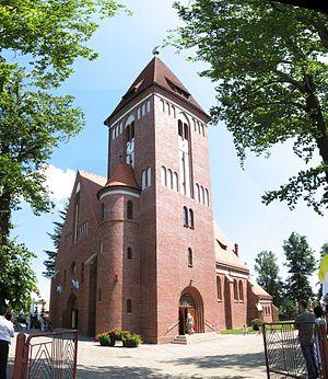 Kobiór - A local Catholic church