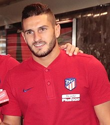 Koke - the cool, hot, cute,  football player  with Spanish roots in 2020