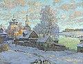 Konstantin Gorbatov - Village in the Winter Sun.jpg