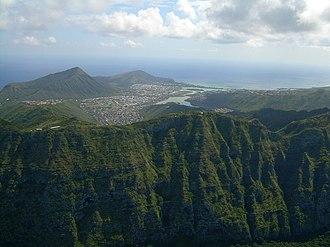 Koʻolau Range - Image: Koolau Range 02