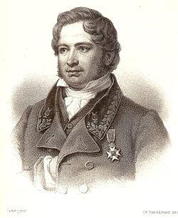 Erik Gustaf Geijer från ett litografi publicerad i Samlade skrifter 1875.