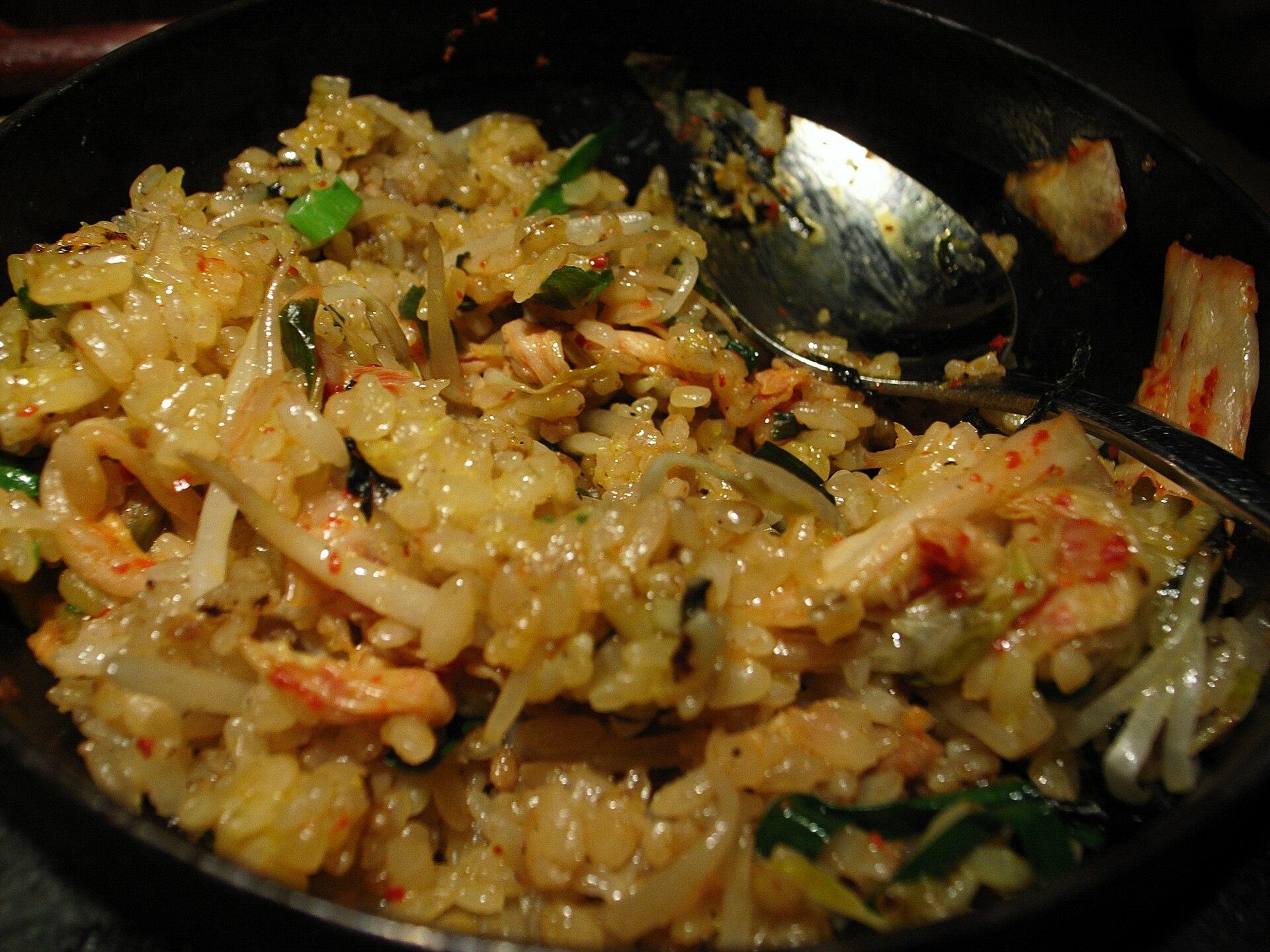 kimchi bokkeumbap   wikipedia bahasa indonesia