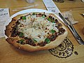 Korean beef pizza in Korean coffee shop.jpg